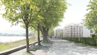 Lakeside Apartment Buildings