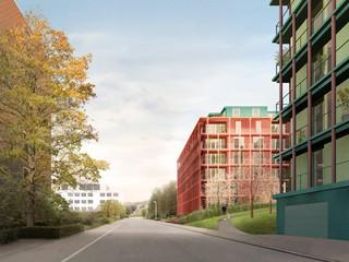 Apartment Buildings, Eggen