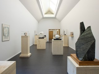 Barbara Hepworth: Divided Circle Heong Gallery, Cambridge, United Kingdom