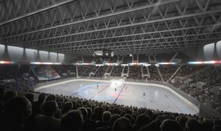 ZSC Lions Arena Zurich, Switzerland