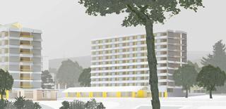 Gutstrasse Cooperative Housing Zurich-Wiedikon