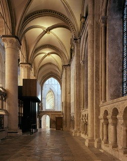 Architects' Journal Design Study: Organ loft at Canterbury Cathedral Canterbury, United Kingdom